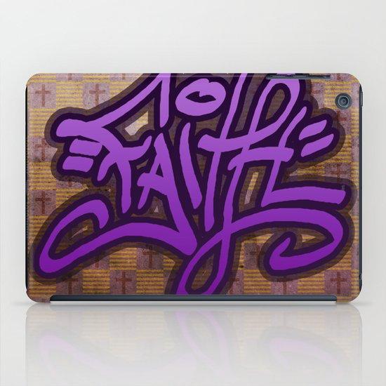 Faith (Graffiti) iPad Case