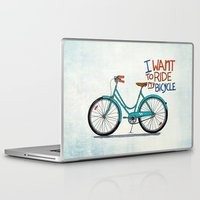 bicycle Laptop & iPad Skins featuring Bicycle by Prince Arora