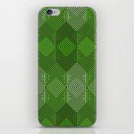 iPhone & iPod Skin featuring Op Art 93 by Harvey Warwick