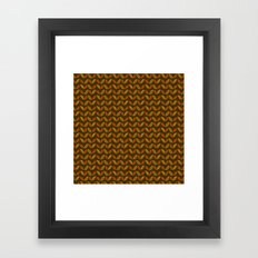 Colors of Autumn Pattern Framed Art Print