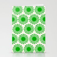 Vintage Flower_Green Stationery Cards