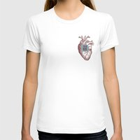 In My Heart Womens Fitted Tee White SMALL
