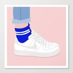 FORCE & SOCKS Canvas Print