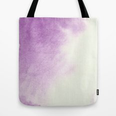 purple watercolor Tote Bag