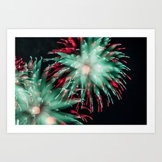Fireworks - Philippines 15 Art Print