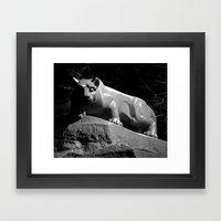 Penn State Nittany Lion … Framed Art Print