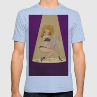 dr.sketchy girl Mens Fitted Tee Athletic Blue SMALL