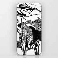 Unicorns iPhone & iPod Skin