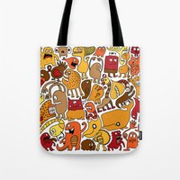 Creatures! Tote Bag