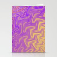 Ripples Fractal In Tropi… Stationery Cards