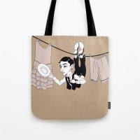 Buster Keaton Hello Neig… Tote Bag