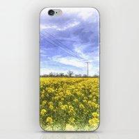 Yellow Fields Of Summer Art iPhone & iPod Skin