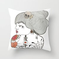 Look Throw Pillow