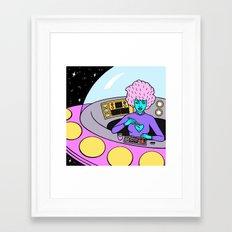 LUNCH BREAK Framed Art Print