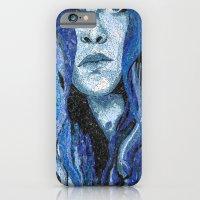 Of Water - Monochromatic Mosaic iPhone 6 Slim Case