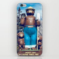 Retro Smokey iPhone & iPod Skin