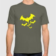 Bat Mens Fitted Tee Lieutenant SMALL