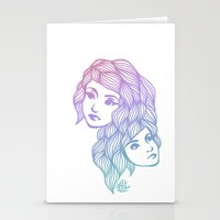 Two Heads are Better Than One Stationery Cards