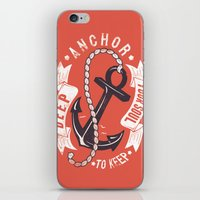 Anchor your soul iPhone & iPod Skin