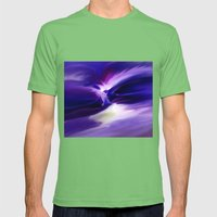 Arrival Mens Fitted Tee Grass SMALL