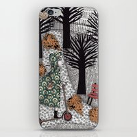 Autumn In The Park iPhone & iPod Skin