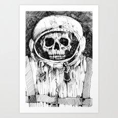 Kosmonauts dream Art Print