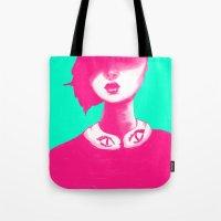 Contemporary Collar Tote Bag