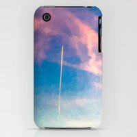 """iPhone Cases featuring """" CONTRAIL """" by James Dunlap"""