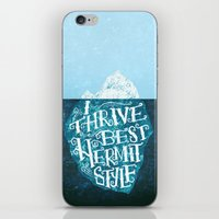 Hermit Iceberg iPhone & iPod Skin