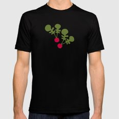 Vegetable Medley SMALL Mens Fitted Tee Black