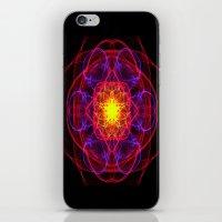Silkweave / Neon Sigil 1 iPhone & iPod Skin