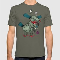 The Gromble Mens Fitted Tee Lieutenant SMALL