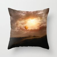 Hope, from the Sun II Throw Pillow