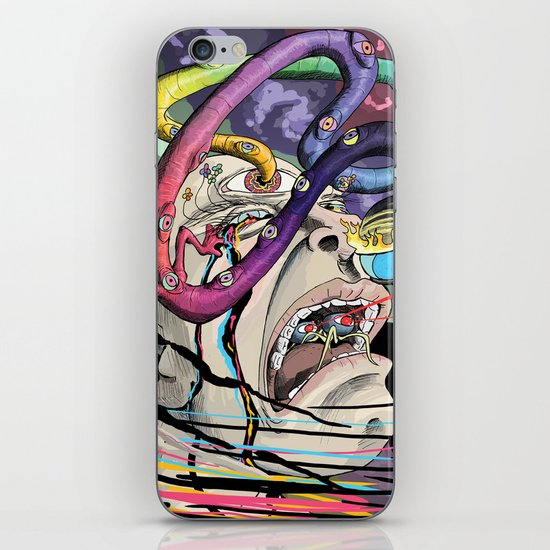 Total Freak Out iPhone & iPod Skin