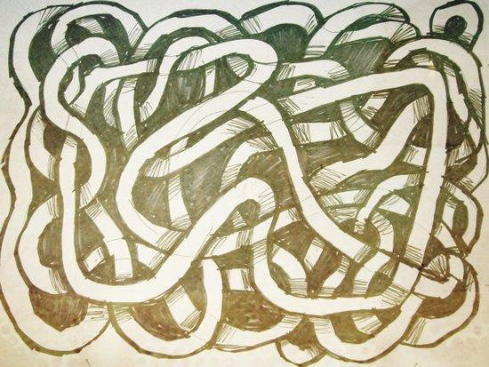 thread loop Canvas Print