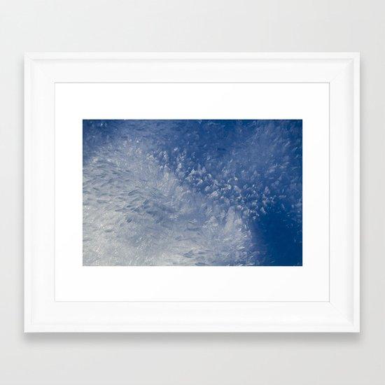 Hoar Frost Framed Art Print