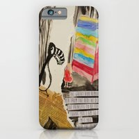 iPhone & iPod Case featuring The Princess meets The Great Auk by Trudi Drewett Illustration