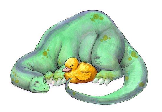 Cuddle Buddies Canvas Print