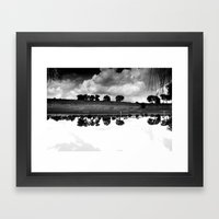 what is reflection? Framed Art Print