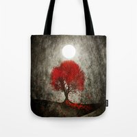 Red autumn. Tote Bag