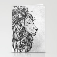 Poetic Lion B&W Stationery Cards