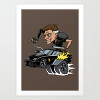 Mad Maxfink Art Print