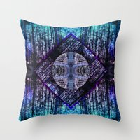 Seatrees Throw Pillow