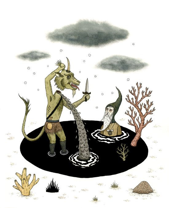 Shifting Tide Pool Canvas Print