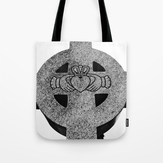 Claddagh cross Tote Bag