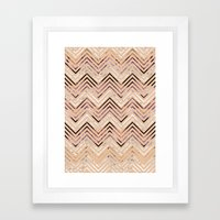 over and over  Framed Art Print