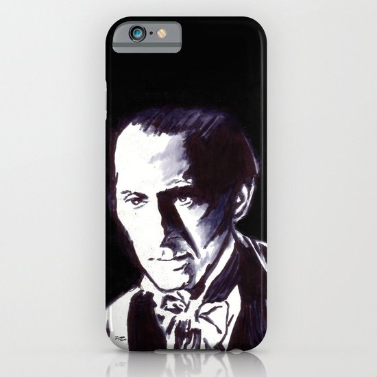 The Gentle Man of Horror iPhone & iPod Case