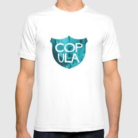 COP ULA Mens Fitted Tee White SMALL