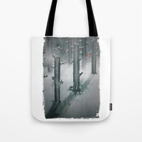The Woods in Winter Tote Bag
