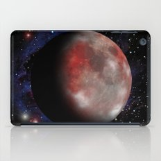 Red moon iPad Case